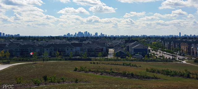 Downtown Edmonton in the distance