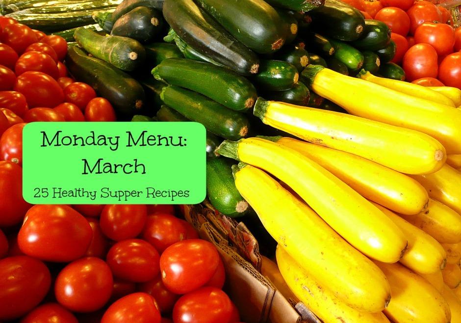 Monday Menu March