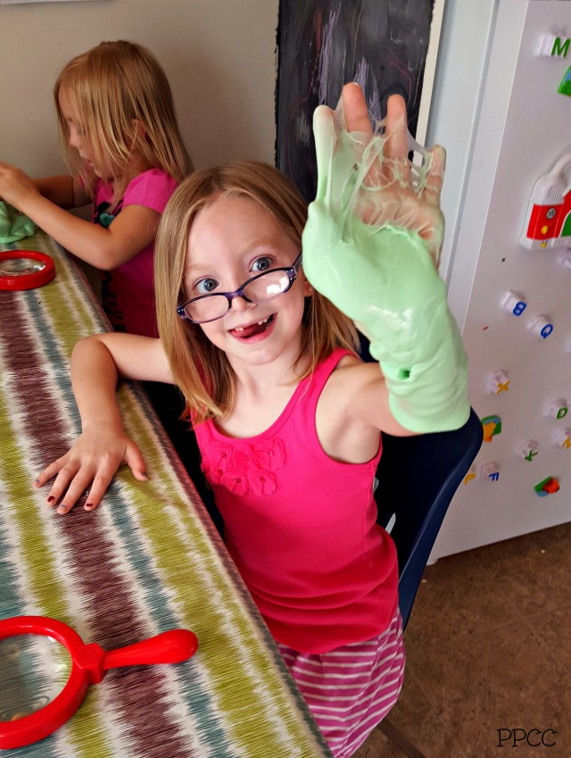 DIY Slime! A Kid Favorite on a Rainy Day