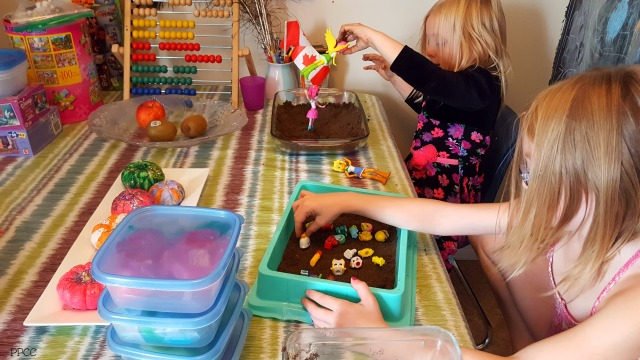 Day 5: A Scavenger Hunt and Messy Play