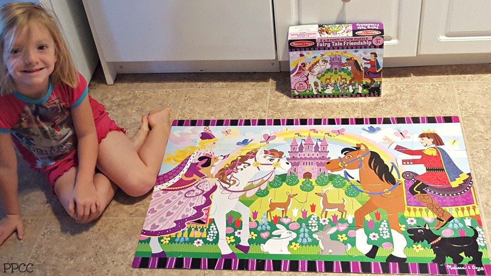 Day 2 - Puzzles: 31 Days of our Favorite Homeschooling Activities