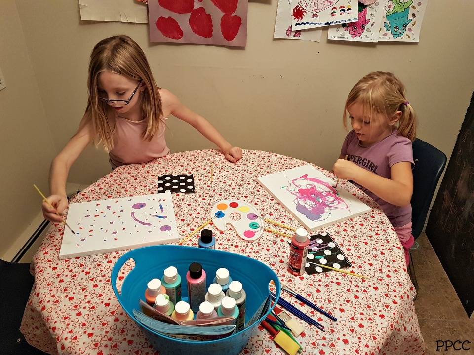Day 5: Arts and Crafts - 31 Days of our Favorite Homeschooling Activities
