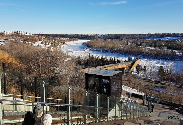 YEG Fun With a Ride on the Funicular